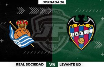 Alineaciones Real Sociedad - Levante Jornada 26