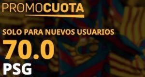 Promocuota PSG - Barcelona en Betfair
