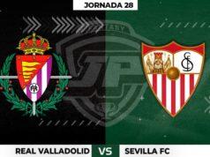 Alineaciones Valladolid - Sevilla Jornada 28
