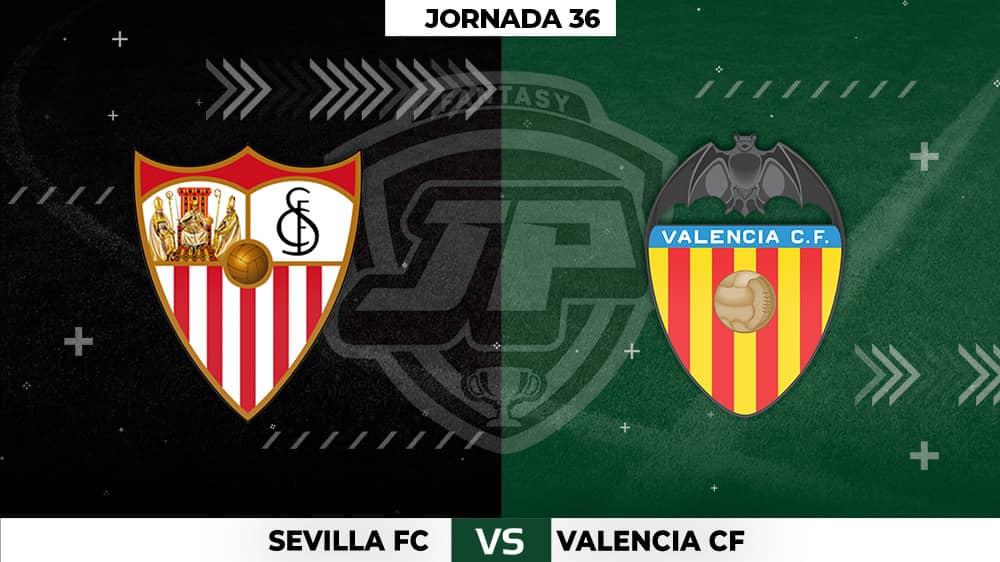 Alineaciones Posibles: Sevilla - Valencia Jornada 36