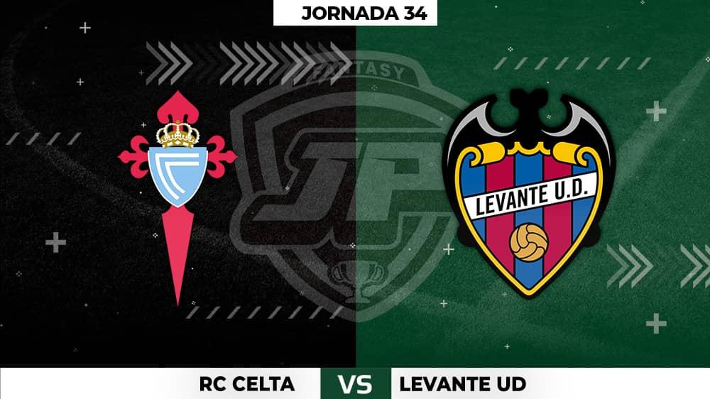 Alineaciones Posibles: Celta - Levante Jornada 34