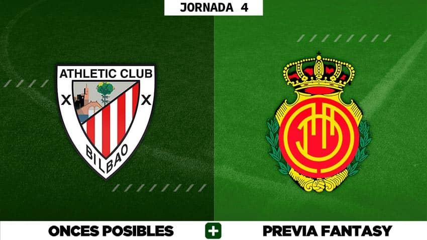 Alineaciones Posibles del Athletic - Mallorca - Jornada 4