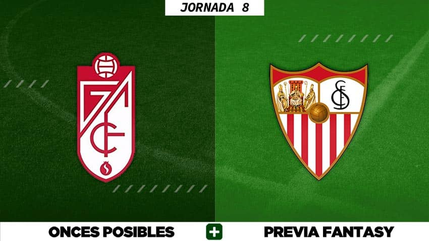 Alineaciones Posibles del Granada - Sevilla - Jornada 8