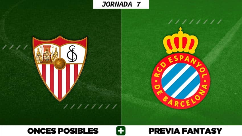 Alineaciones Posibles del Sevilla - Espanyol - Jornada 7