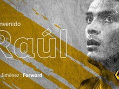 Raúl Jiménez llega al Wolves