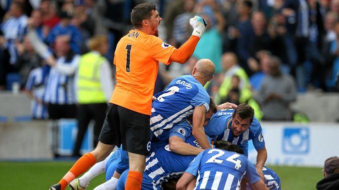 Brighton, consiguiendo la permanencia en la Premier League