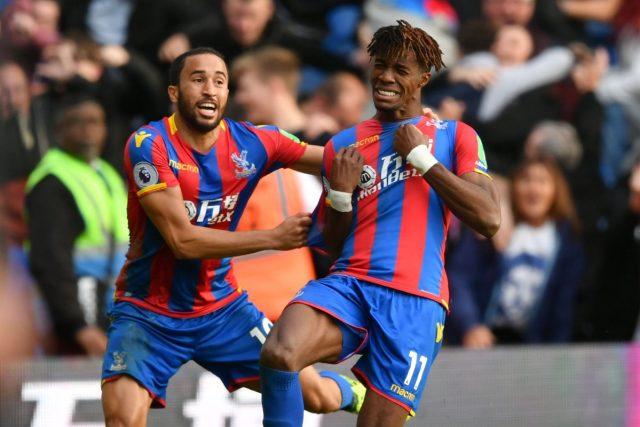 Wilfried Zaha y Townsend, los grandes del Crystal Palace
