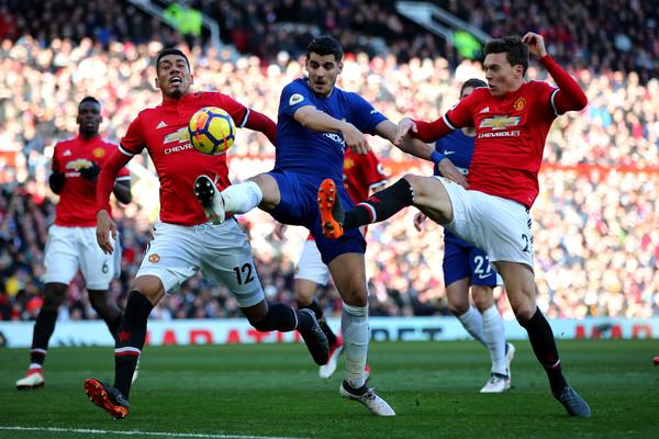 La defensa del Manchester United en la Premier League