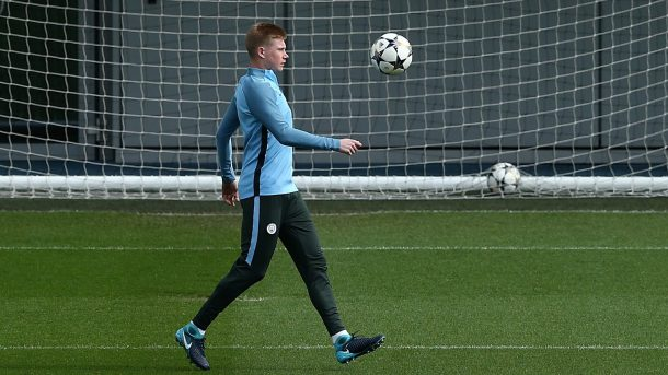 De Bruyne vuelve a los entrenamientos del Manchester City
