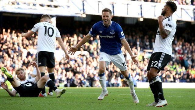 Sigurðsson en el Everton