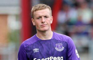 Jordan Pickford en Biwenger con el Everton