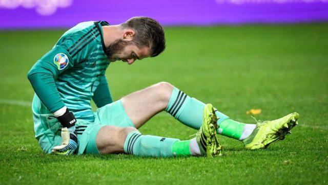 David De Gea, lesionado con España