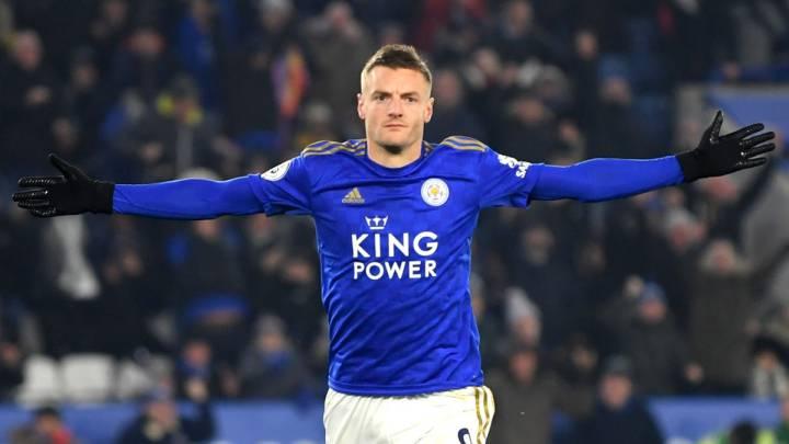 Jamie Vardy, delantero del Leicester