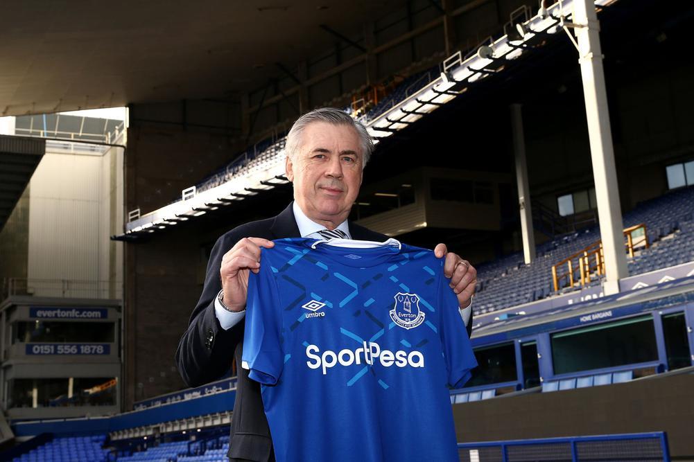 Carlo Ancelotti llega al Everton con el objetivo de cambiar las cosas en la Premier League.