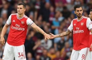 Dani Ceballos en la rampa de salida del Arsenal