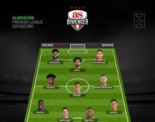 Once de apuestas para la jornada 8 de la Premier League en Biwenger
