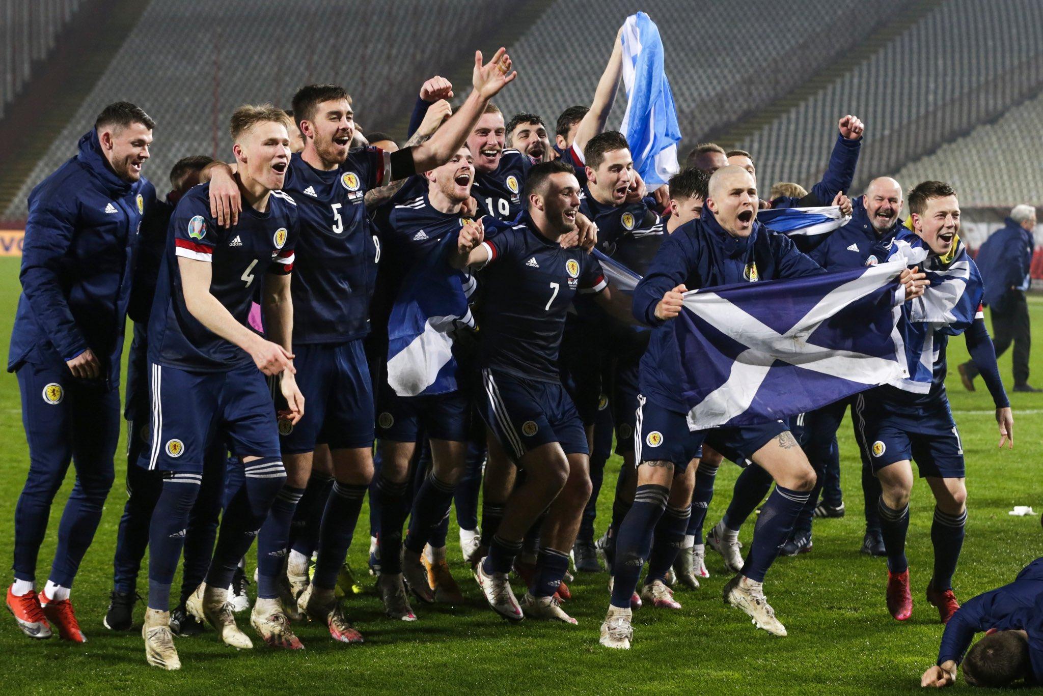 Escocia se ha clasificado para una Eurocopa 25 años después