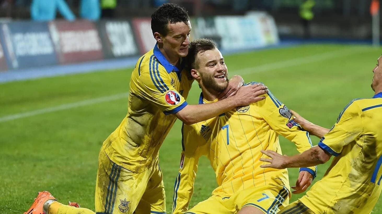 Gol de Ucrania