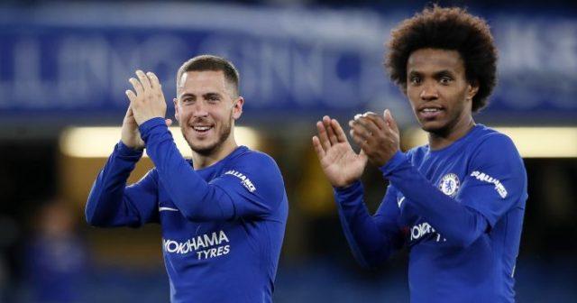 Willian y Hazard serán las estrellas del Chelsea