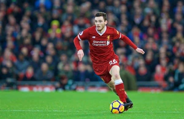 Robertson, el lateral izquierdo del Liverpool
