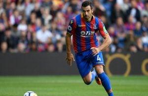 Milivojevic en el Crystal Palace