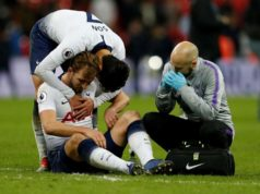 Harry Kane estará lesionado hasta marzo