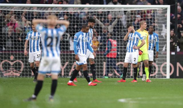 Huddersfield Town récord Premier League.