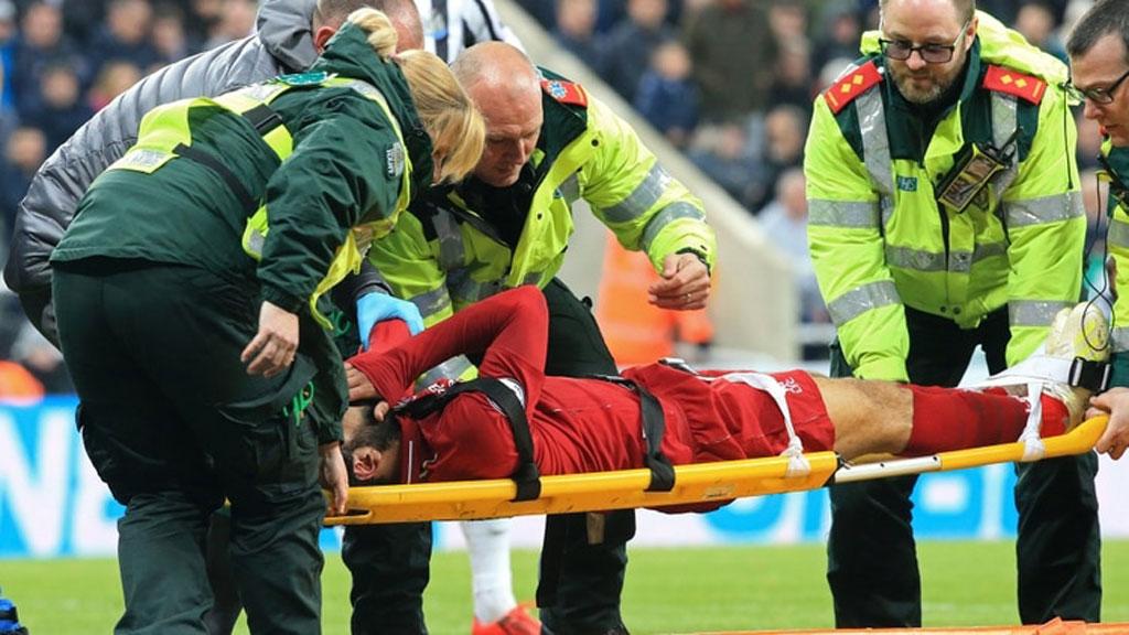 Salah, lesionado con el Liverpool para el partido contra el Barcelona