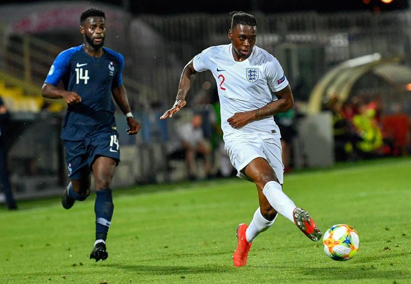 Wan-Bissaka, lesionado con Inglaterra