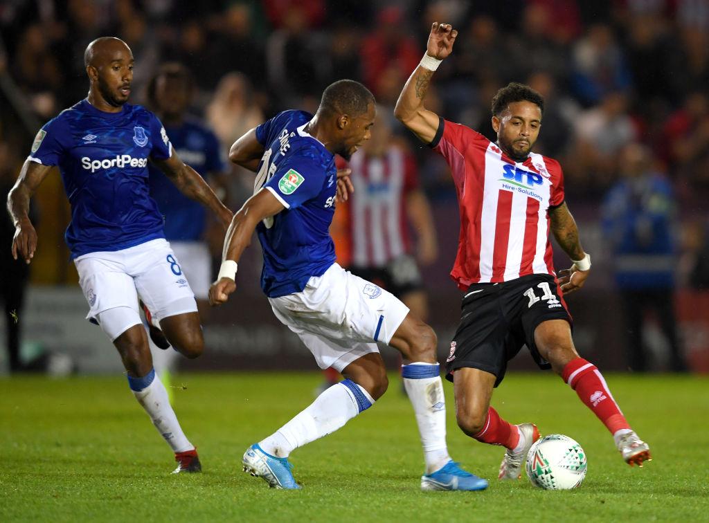 Djibril Sidibé en Copa de la Liga